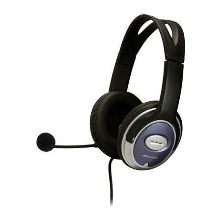 Headset Fortrek com Microfone HS308 Preto/Prata 54501
