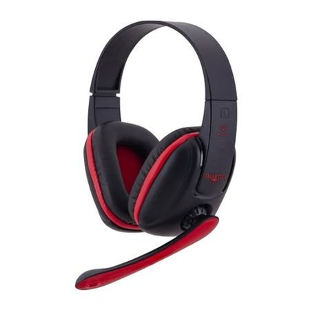 Headset Gamer Fortrek Spider Tarantula SHS702 Preto/Vermelho 54221