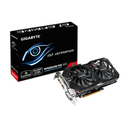 PLACA DE VÍDEO GIGABYTE RADEON R9 380 G1.GAMING 4GB 256BIT GV-R938G1 GAMING-4GD GDDR5 C/HDMI PCI-EXP