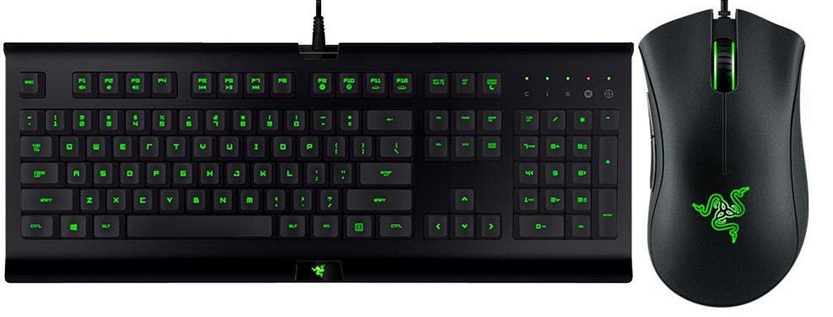 Combo Gamer Teclado e Mouse Razer Cynosa Bundle Pro - RZ84-01470100-B3M1