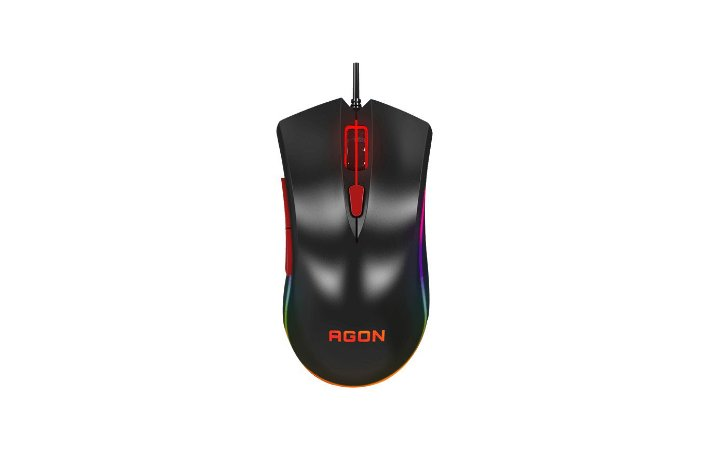 Mouse Gamer Aoc Agon 4000 Dpi Agm3050/D