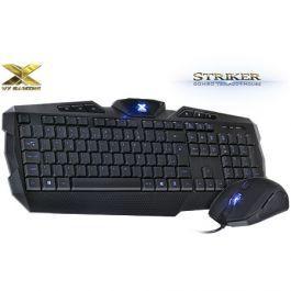 Combo Teclado+Mouse Vx Gaming Striker Az -