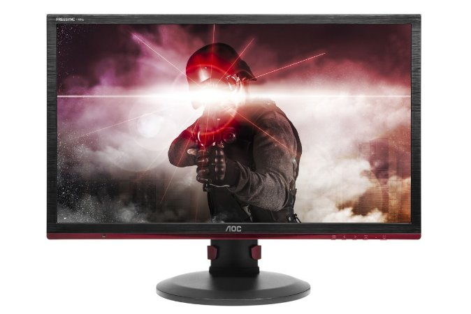 "MONITOR 24"" LED AOC GAMER SNIPER-75HZ-1MS"