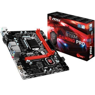 Placa Mãe B150M Gaming Pro Msi Com Mouse Gamer B150M Gaming Pro