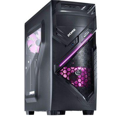 Computador Gamer V-gamer Princess - I3 7100 - H110 - Memória Crucial 8 Gb - GT 1030 - 400w - 1 Tb - Chacal Rosa