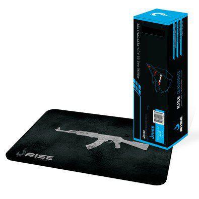 Mousepad Rise Gaming- AK47- COSTURADO- Tamanho Grande- Fibertek