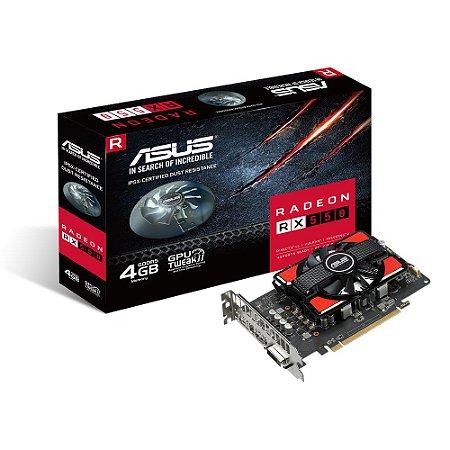 Gpu Rx 550 4Gb D5 Asus Rx550-4G 90Yv0Ag0-M0Na00