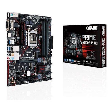Placa Mãe Asus Prime B250M-Plus LGA1151 90-MB0SI0-MOEAY0