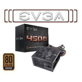 FONTE 450W EVGA 80+ BRONZE (SEM CABO) 100-B1-0450-K1