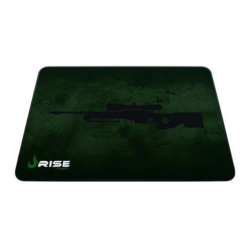 Mousepad Rise Gaming- SNIPER- COSTURADO- Tamanho Grande- Fibertek