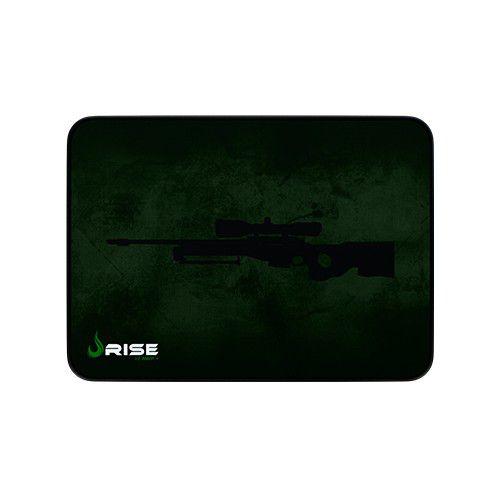 Mousepad Rise Gaming- SNIPER- COSTURADO - Tamanho medio - Fibertek