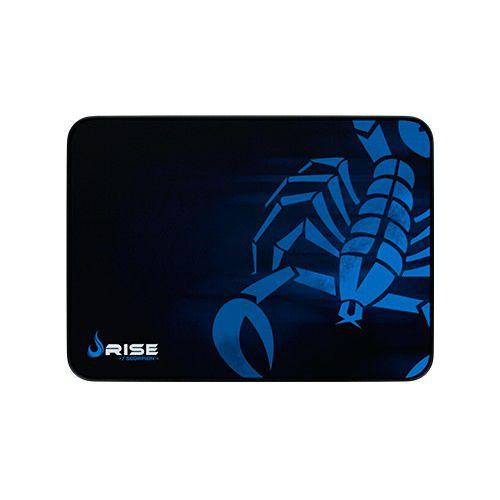 Mousepad Rise Gaming- SCORPION - COSTURADO - Tamanho medio - Fibertek