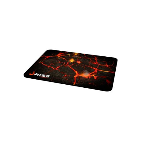 Mousepad Rise Gaming- VOLCANO - COSTURADO - Tamanho medio - Fibertek