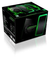 Warrior Gamer Caixa De Som  Led Light/ Usb (05)