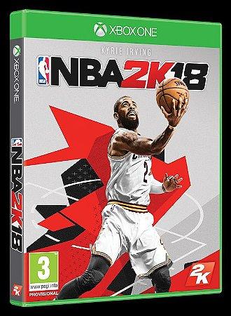 Jogo NBA 2K18 Xbox One