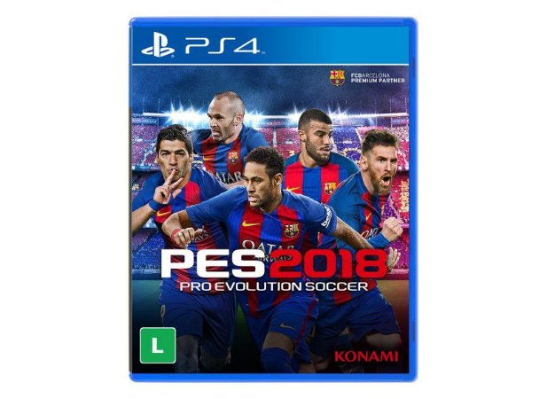 P4SA00724401FGM      PRO EVOLUTION SOCCER 2018-PS4