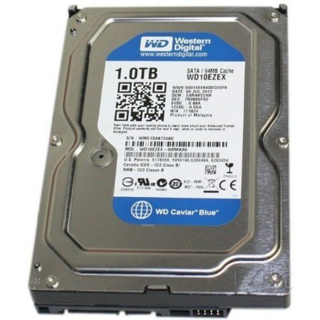 HD 1Tb Western Digital 64Mb 7200RPM WD10EZEX