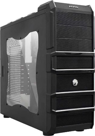 Gabinete Gamer Rhino Sem Fonte Fan 120Mm -