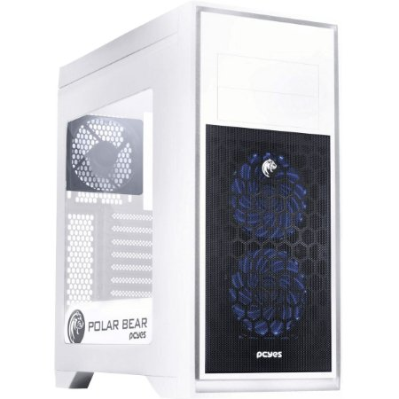 Gabinete Midtower Polar Bear Lateral Acr -