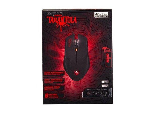 Mouse Gamer Fortrek Tarantula Om702 Pt