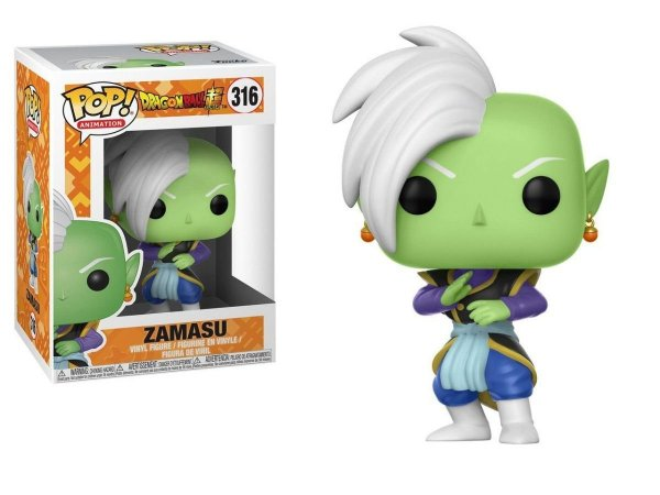 FUNKO BONECO POP FUNKO DRAGON BALL SUPER ZAMASU CAIXA UN - Cod.Barra: 889698249812