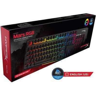 Teclado HyperX Gamer Mars RGB LED