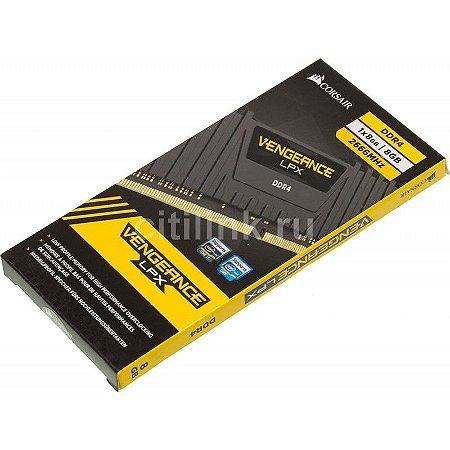 Memória DDR4 8Gb 2666 Vengeance LPX Corsair