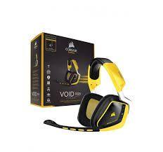 Headset Corsair VOID PRO Wireless SE Yellowjacket PN # CA-9011150-NA