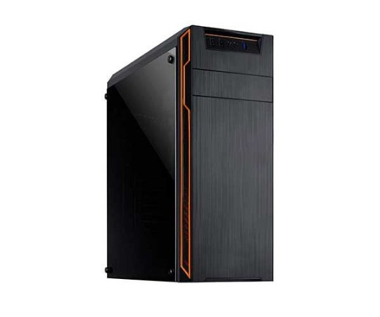 Computador Office Six - i3 8100 - H310 - 8Gb DDR4 - 1TB HD - Fonte 200w - Gabinete