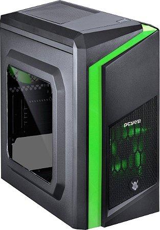 Computador Gamer V-Gamer Mew - i3 8100 - H310 - 8Gb DDR4 - 1Tb HD - Fonte 400w - RX 550 2gb - Gabinete