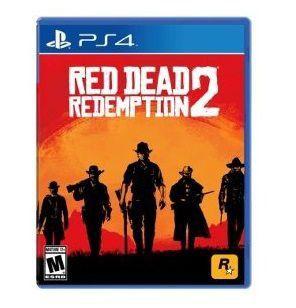 Pré-Venda Red Dead Redemption 2 Ps4