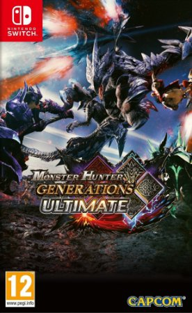 Jogo Monster Hunter Generations Ultimate (Switch)