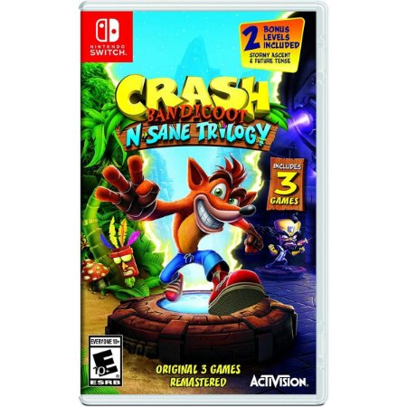 Jogo Crash Bandicoot N Sane Trilogy (Switch)