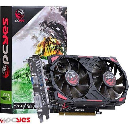 GPU GTX750 TI 2GB DDR5 PCYES