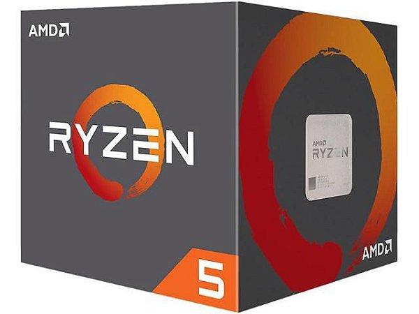 PROCESSADOR AMD RYZEN R52600X 4,25GHZ AM4 16MB CACHE YD260XBCAFBOX