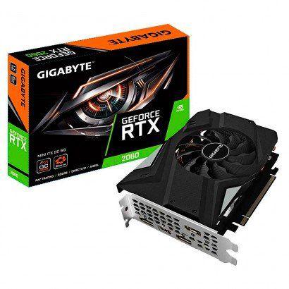GPU RTX 2060 6GB GDDR6 192BIT GIGABYTE - GV-N2060IXOC-6GD RTX2060