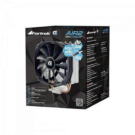 COOLER FORTREK CPU GAMER AIR2