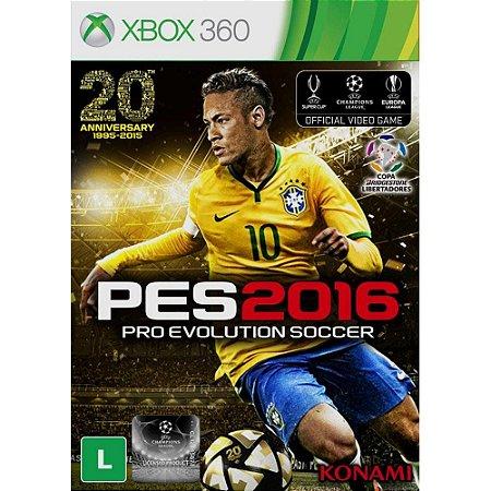 PES 2016 Xbox 360 (Semi-novo)