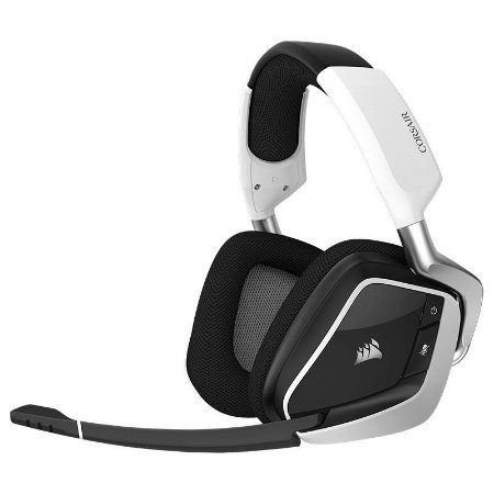 Headset Corsair VOID PRO RGB Wir. Dolby 7.1 USB Gam. WHITE PN # CA-9011153-NA