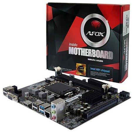 Placa Mãe Intel H81 LGA 1150 AFOX