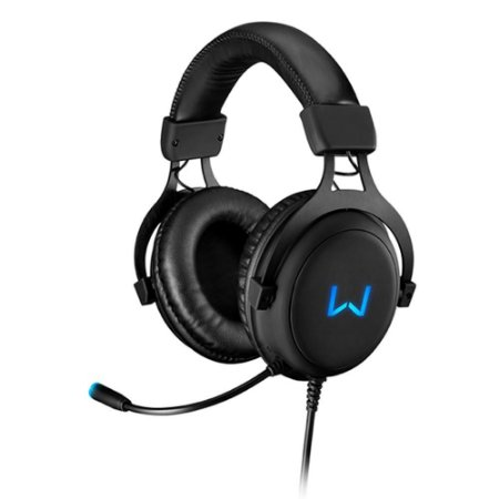 WARRIOR VOLKER HEADSET GAMER 7.1 USB COM LED AZUL (05)