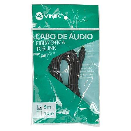 CABO DE AUDIO TOSLINK 5M ATC-5