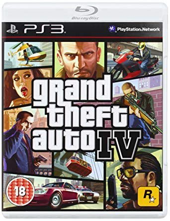 Playstation 3 GTA IV (Semi-Novo)