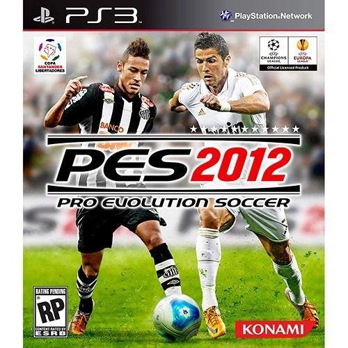 Playstation 3 PES 2012 (Semi-Novo)