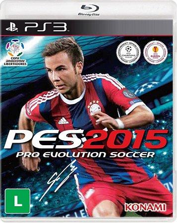Playstation 3 PES 2015 (Semi-Novo)
