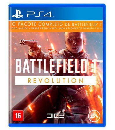 Playstation 4 Battlefield 1 Revolution