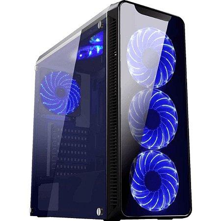 Computador Gamer V-Gamer Fusion - Ryzen 5 3400G - A320 - 8Gb DDR4 - 1Tb HD - Fonte 400w - RX 570 4gb - Gabinete