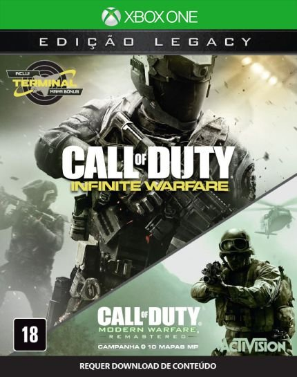 Call of Duty Infinity Warfare Semi Novo - Xbox One