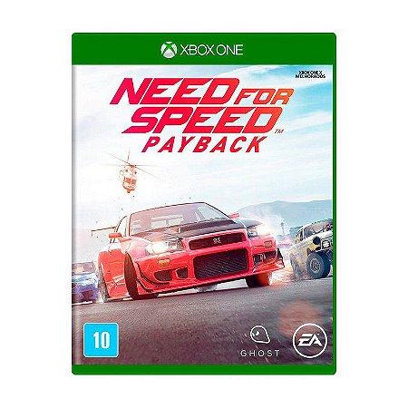 Need For Speed Payback Semi Novo - Xbox One