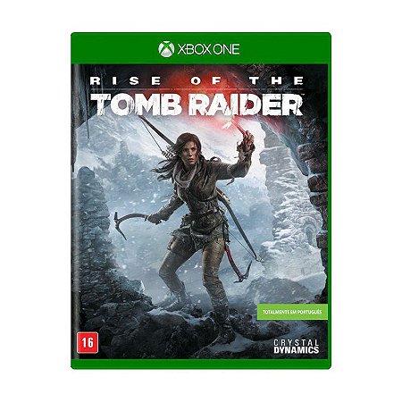 Rise of the Tomb Raider Semi novo - Xbox One